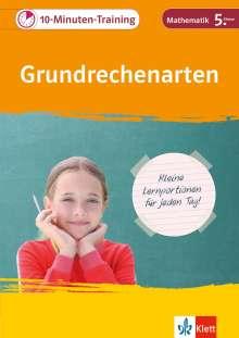 10-Minuten-Training Grundrechenarten. Mathematik 5. Klasse, Buch