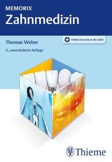 Thomas Weber: Memorix Zahnmedizin, 1 Buch und 1 Diverse