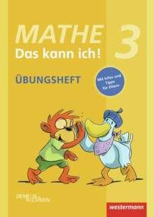 Michael Hoffmann: Mathe - Das kann ich! Übungsheft Klasse 3, Buch