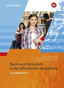 Hans-Gerd Düngen: Ausbildung in der öffentlichen Verwaltung. Recht und Wirtschaft. Grundlagenband, Buch