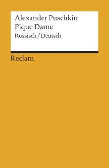 Alexander S. Puschkin: Pique Dame, Buch