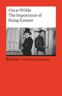 Oscar Wilde: The Importance of Being Earnest, Buch