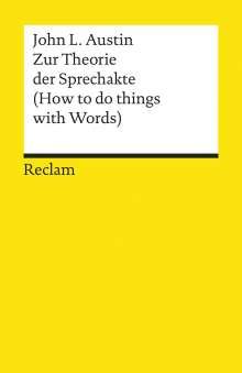 John Langshaw Austin: Zur Theorie der Sprechakte, Buch