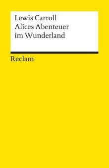 Lewis Carroll: Alices Abenteuer im Wunderland, Buch