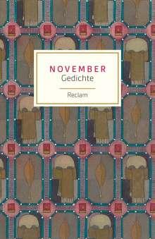 November, Buch