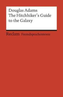 Douglas Adams: The Hitchhiker's Guide to the Galaxy, Buch