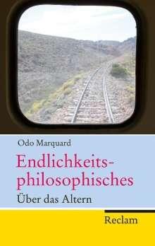 Odo Marquard: Endlichkeitsphilosophisches, Buch