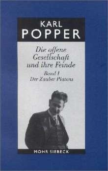 Karl R. Popper: Die offene Gesellschaft und ihre Feinde I. Studienausgabe, Buch