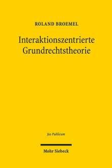 Roland Broemel: Interaktionszentrierte Grundrechtstheorie, Buch