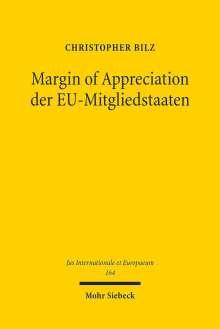 Christopher Bilz: Margin of Appreciation der EU-Mitgliedstaaten, Buch