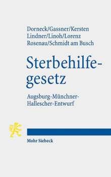 Carina Dorneck: Gesetz zur Gewährleistung selbstbestimmten Sterbens und zur Suizidprävention, Buch