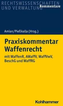 Florian Albrecht: Praxiskommentar Waffenrecht, Buch