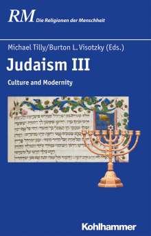Judaism III, Buch