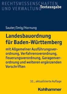 Helmut Sauter: Landesbauordnung für Baden-Württemberg, Buch