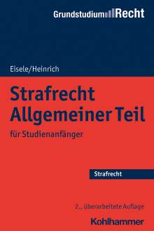 Jörg Eisele: Strafrecht Allgemeiner Teil, Buch