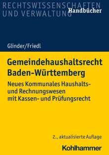 Peter Glinder: Gemeindehaushaltsrecht Baden-Württemberg, Buch