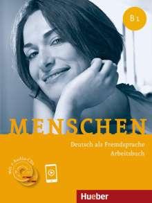 Anna Breitsameter: Menschen B1. Arbeitsbuch mit 2 Audio-CDs, Buch