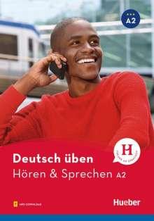 Anneli Billina: Deutsch üben - Hören & Sprechen A2, Buch