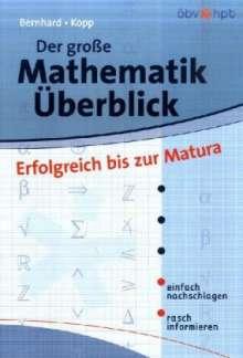 Martin Bernhard: Der grosse Mathematik-Überblick, Buch