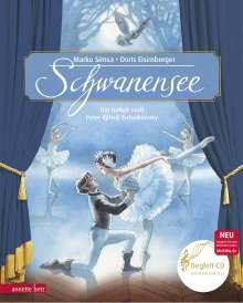 Marko Simsa: Schwanensee, Buch