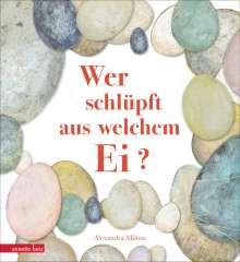 Alexandra Milton: Wer schlüpft aus welchem Ei?, Buch