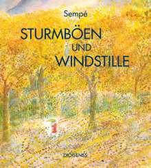 Jean-Jacques Sempé: Sturmböen und Windstille, Buch