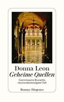 Donna Leon: Geheime Quellen, Buch