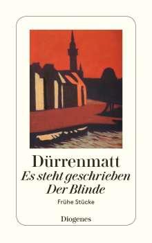 Friedrich Dürrenmatt: Es steht geschrieben / Der Blinde, Buch