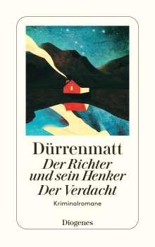 Friedrich Dürrenmatt: Der Richter und sein Henker. Der Verdacht, Buch
