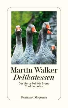 Martin Walker: Delikatessen, Buch