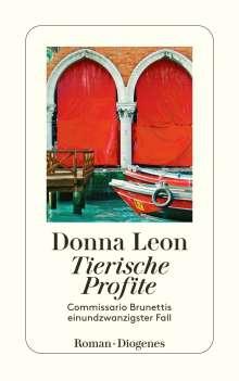 Donna Leon: Tierische Profite, Buch