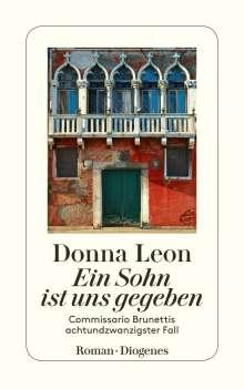 Donna Leon: Ein Sohn ist uns gegeben, Buch