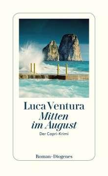 Luca Ventura: Mitten im August, Buch