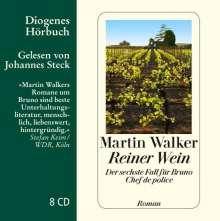 Martin Walker: Reiner Wein, 8 CDs