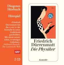 Friedrich Dürrenmatt: Die Physiker, 2 CDs