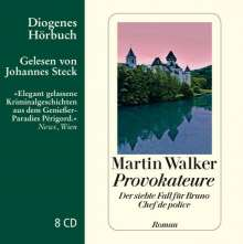 Martin Walker: Provokateure, CD