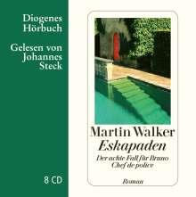 Martin Walker: Eskapaden, 8 CDs