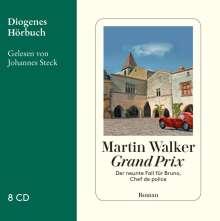 Martin Walker: Grand Prix, 8 CDs
