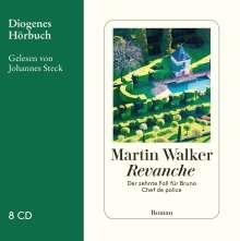 Martin Walker: Revanche, 8 CDs