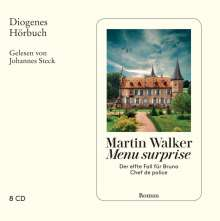 Martin Walker: Menu surprise, 8 CDs