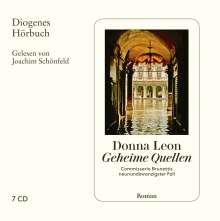 Donna Leon: Geheime Quellen, 7 CDs