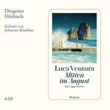 Luca Ventura: Mitten im August, 6 CDs