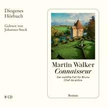 Martin Walker: Connaisseur, 8 CDs