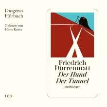 Friedrich Dürrenmatt: Der Hund / Der Tunnel, CD