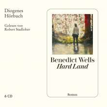 Benedict Wells: Hard Land, 6 CDs