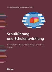 Roman Capaul: Schulführung und Schulentwicklung, Buch