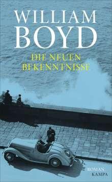 William Boyd: Die neuen Bekenntnisse, Buch