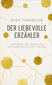 Olga Tokarczuk: Der liebevolle Erzähler, Buch