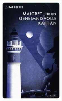 Georges Simenon: Maigret und der geheimnisvolle Kapitän, Buch