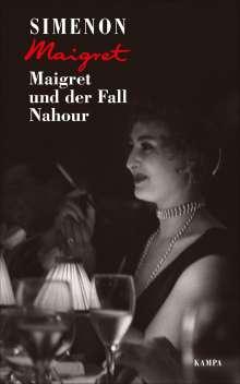 Georges Simenon: Maigret und der Fall Nahour, Buch